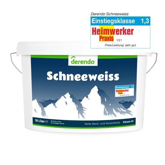 Derendo Schneeweiss - 10 Liter - Unser Topseller