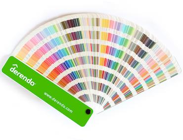 Farbfächer Derendo